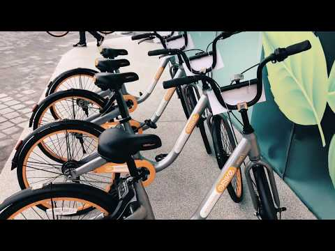 oBike Malaysia 🇲🇾 1st Station-less Bike Share