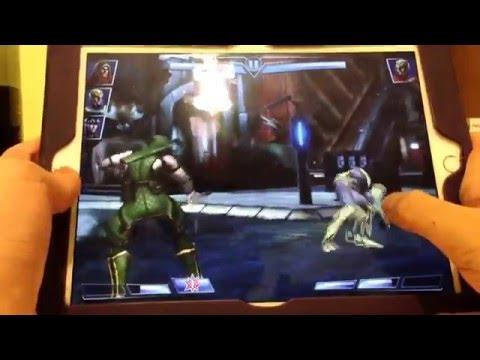 Injustice gods among us iOS Sinestro boss