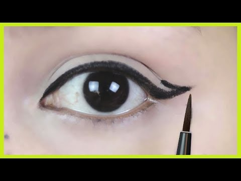 Wing Eyeliner लगाने का सही तरीका /Apply Perfect Winged Eyeliner for Beginners