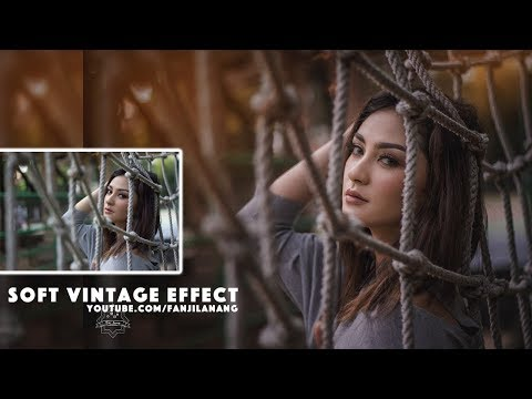 Soft Vintage Effect | Photoshop Tutorial