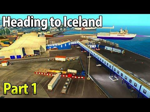 Heading To Reykjavik, Iceland | Part 1 - Euro Truck Simulator 2
