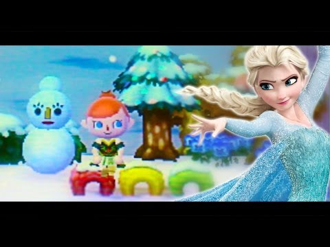 Frozen: Do You Want to Build a Snowman Cover (Animal Crossing New Leaf)