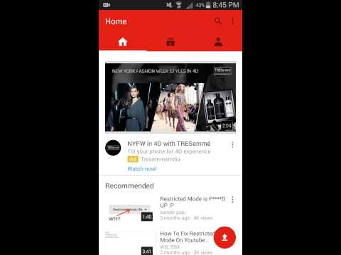 How To Enable Restricted Mode On Android