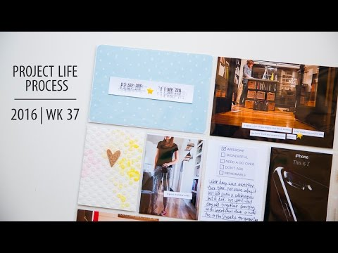 Project Life Process 2016 | Week 37