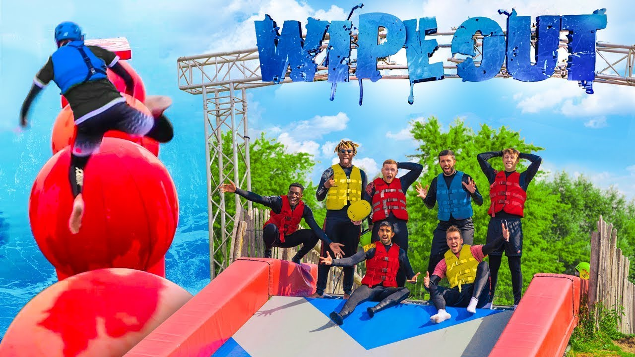 SIDEMEN TOTAL WIPEOUT CHALLENGE