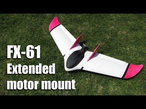 FX-61 extended motor mount