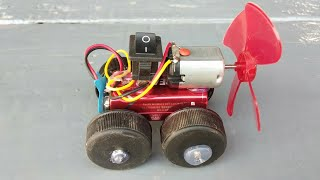 How to make a Powered Air car - DC motor