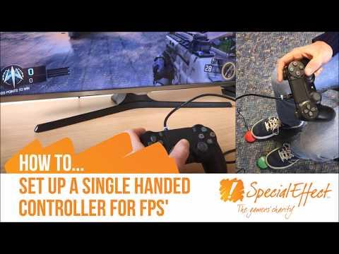 Single Handed FPS Setup | PS4