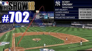 517-FOOT HOMER IN THE PLAYOFFS! | MLB The Show 18 | Road to the Show #702