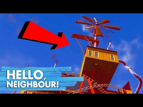 HOW TO GET ON THE ROOF | Hello Neighbor