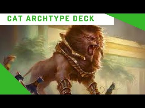 Magic: The Gathering Arena Green and White Cat Deck Build
