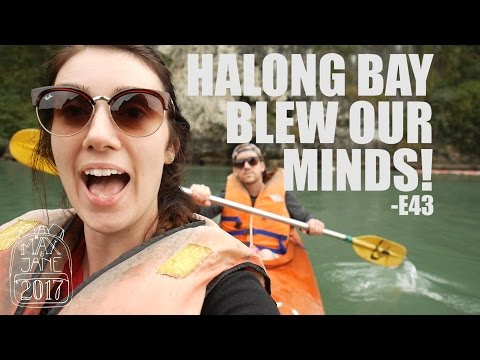 Halong Bay, Vietnam | Sleeping on a boat in Halong! | South East Asia Vlog E43