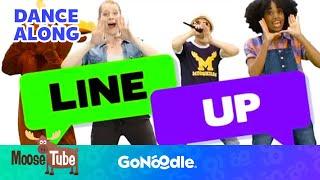 Line Up - Moose Tube | GoNoodle
