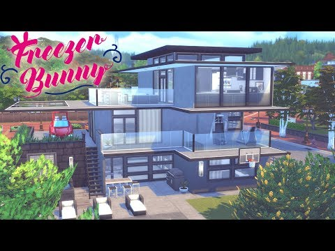 The Sims 4 | RACER'S DREAM HOME | Speed Build - No CC 🏙️ 🚗