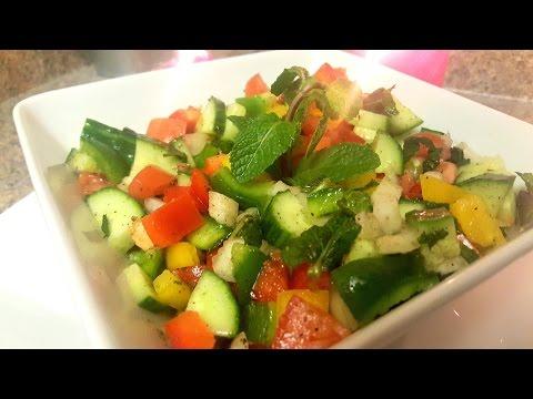 Shirazi Salad (Persian Salad) | Quick & Delicious Cuisine