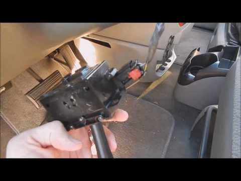 2007 Chrysler Town & Country Turn Signal Switch Repair