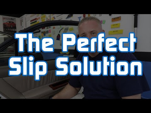 The Perfect Slip Solution