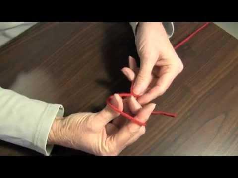 How to make a slip knot for crochet or knitting - 3 methods