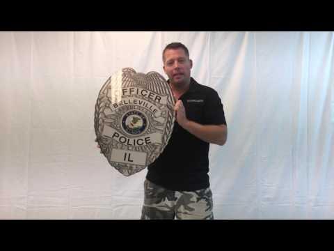 Custom Wall Plaques - Custom Badge Plaque   Patch Plaques™