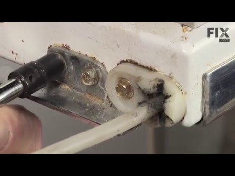 Whirlpool Refrigerator Repair – How to replace the Door Closing Cam Kit