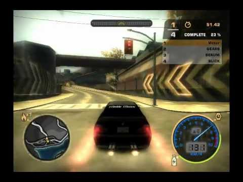 Need for Speed Most Wanted Bonus Car - BMW M3 GTR Stock
