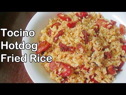 Tocino Hotdog Fried Rice Recipe
