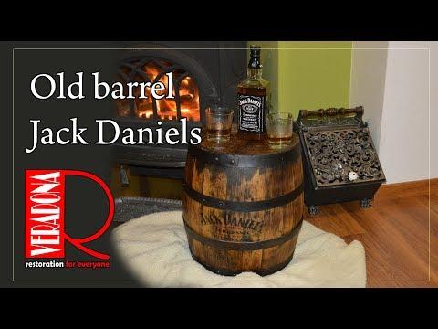 Old barrel Jack Daniels restoration