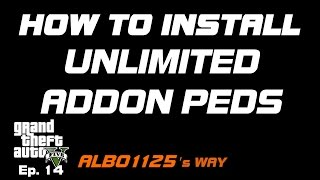 HOW TO INSTALL CUSTOM PEDS IN DEFAULT SLOTS | Modding DLC