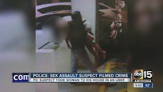 Scottsdale police: Sex assault suspect filmed woman's rape
