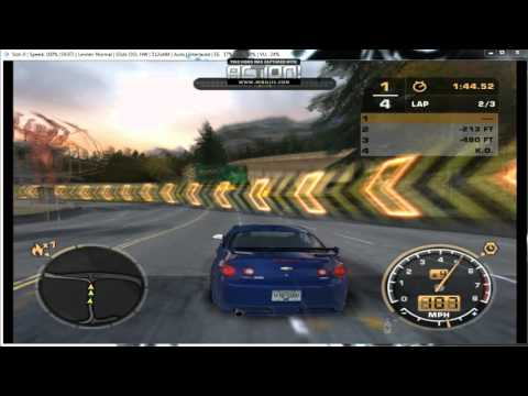 pcsx2 - Need for Speed: Most Wanted