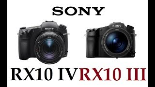 Sony Cyber-shot RX10 IV vs Sony Cyber-shot RX10 III