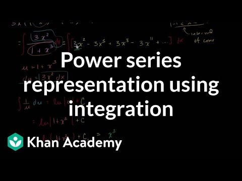 Power series of ln(1+x_) | Series | AP Calculus BC | Khan Academy