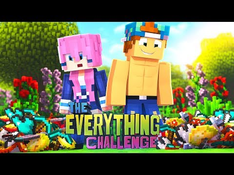 THE EVERYTHING CHALLENGE w/Lizzie!  #1