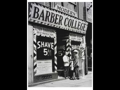 Why go to barber college!