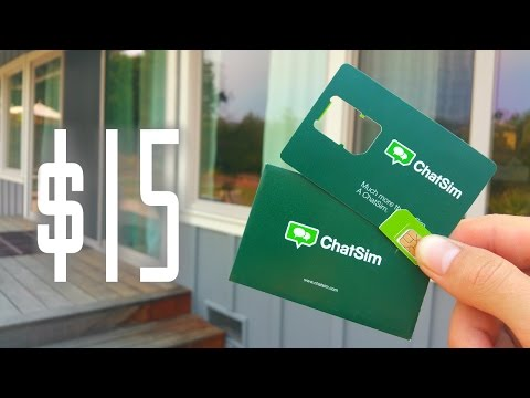 A $15 a Year Phone Plan? ChatSim Unlimited Review