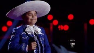 Miguel Morin canta 'Guadalajara' | Audiciones | La Voz Kids 2016