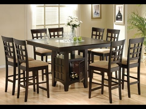 Inspiring Tall Kitchen Tables Idea