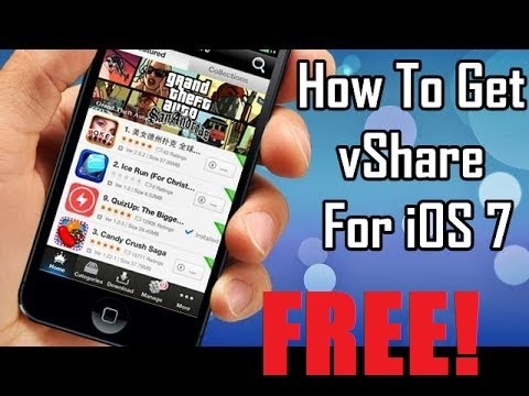 [IOS 7-7.1.2] How To Get Paid Apps for FREE Vshare Update!