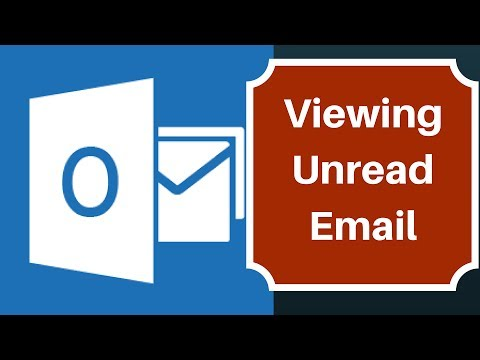 Microsoft Outlook 2016 - How to View or Filter Only Unread Email