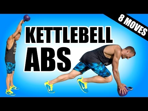 8 BEST KETTLEBELL EXERCISES FOR ABS | Kettlebell Ab Exercises For A Lean Strong Core