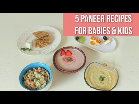 5 Paneer Recipes for Babies
