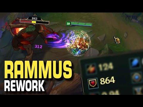 Rammus Rework | PBE-Mini-Update [Deutsch]