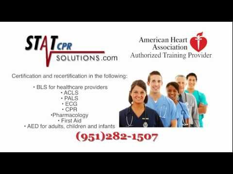 CPR Classes | CPR Certification | Temecula Area | StatCPRSolutions.com