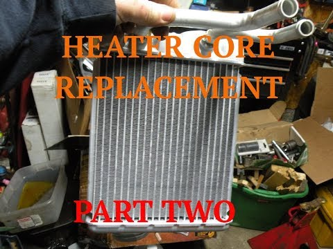 Part 2 - Heater Core Replacement - 98 Chevy Blazer
