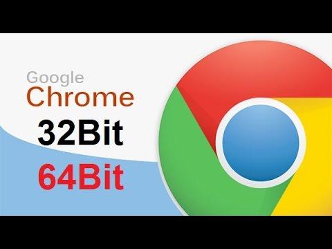 Google Chrome download 32bit/64bit 2016