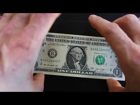 Birthday Notes Fancy Serial Number Dollar Bills