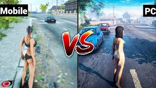 Mad Out 2 Big City Online Mobile Vs PC