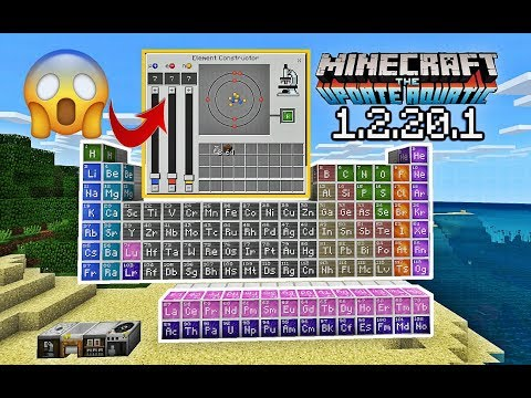 MCPE Chemistry LAB in Minecraft Pocket Edition?! without mods and addons! (NOT CLICKBAIT)