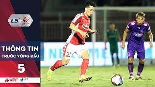 Preview | Vòng 5 LS V.League 1 - 2020 | Nóng bỏng cuộc chiến ở 2 đầu Bảng xếp hạng | VPF Media