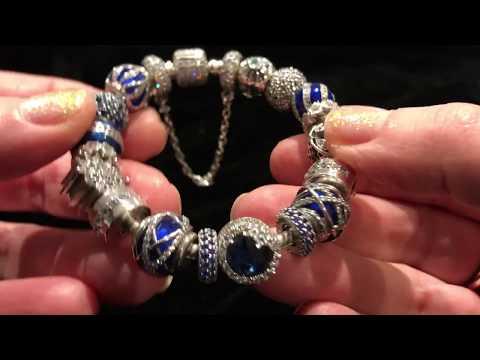My Pandora Bracelet: Sparkly Blue